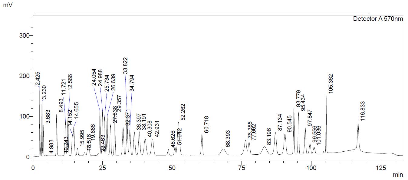 Reference Chromatrogram